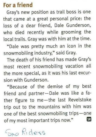 Dale Marvin Gunderson - For a Friend