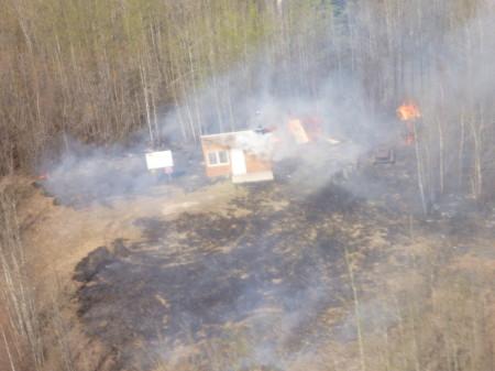 Summit Cabin Fire