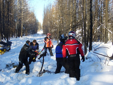 Trail cleaning 2011