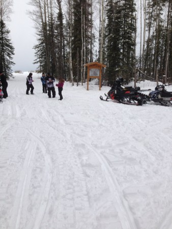 Feb 2016 Gundy Cabin Ride