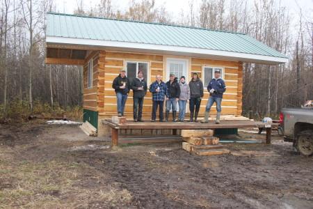 Oct 2012 Summit Cabin construction Crew