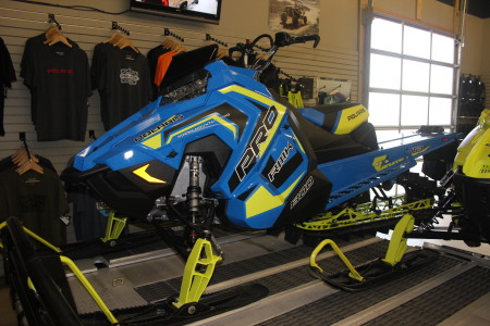 Raffle Sled at Adrenaline