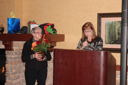 Linford Farewell - Thank You Mistie - Karen Manweiler and Elaine Gunderson